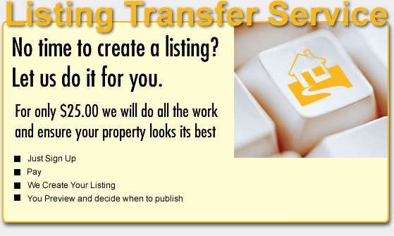 Professional Listing Service